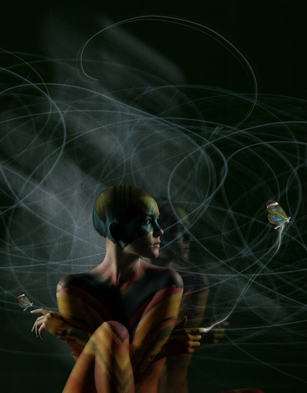Figurative Digital Art - Energy Shift