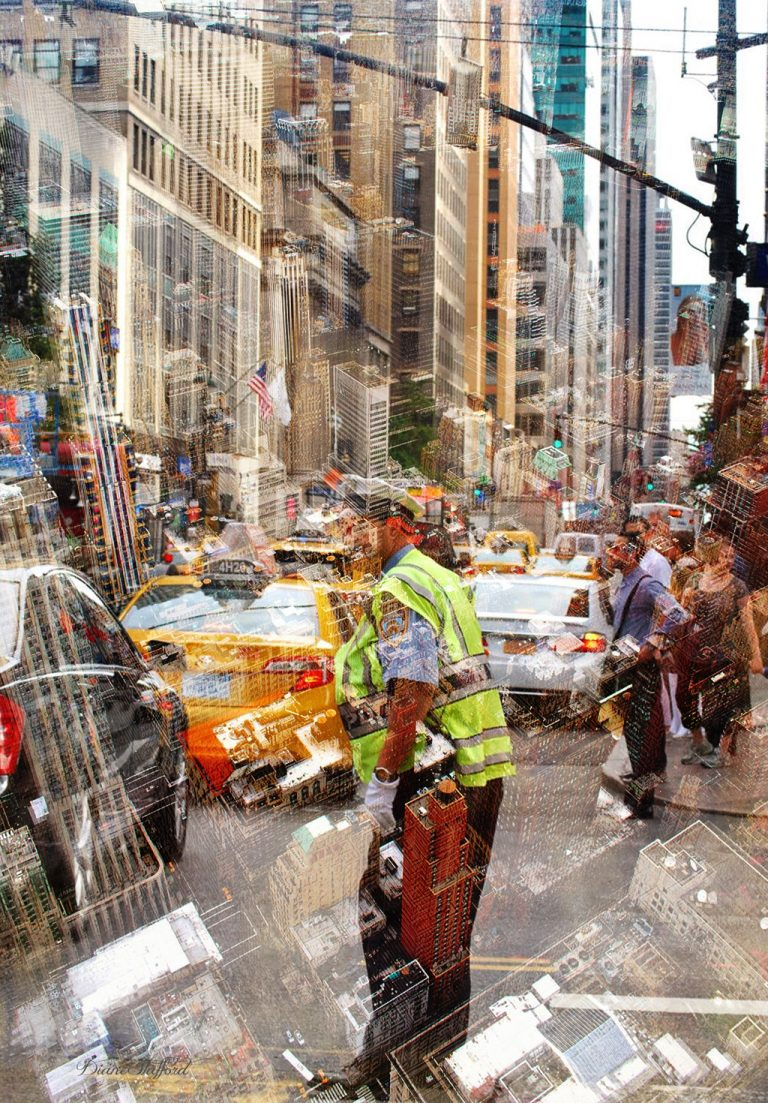 New York composite art