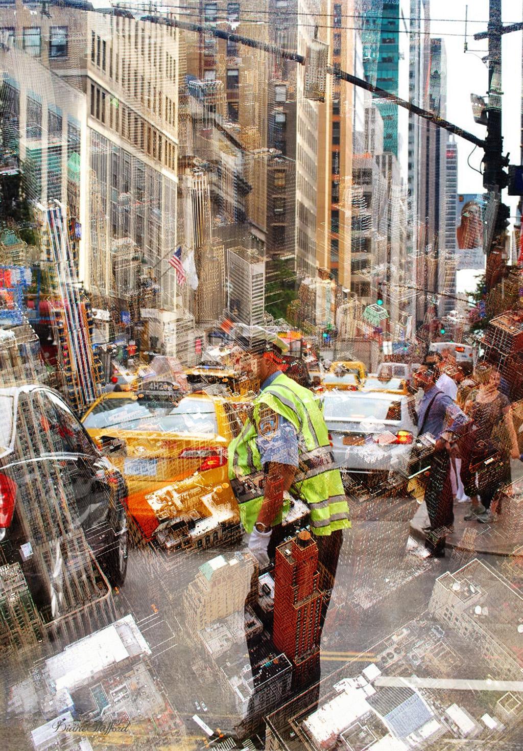 New York City Scape Diane Stafford