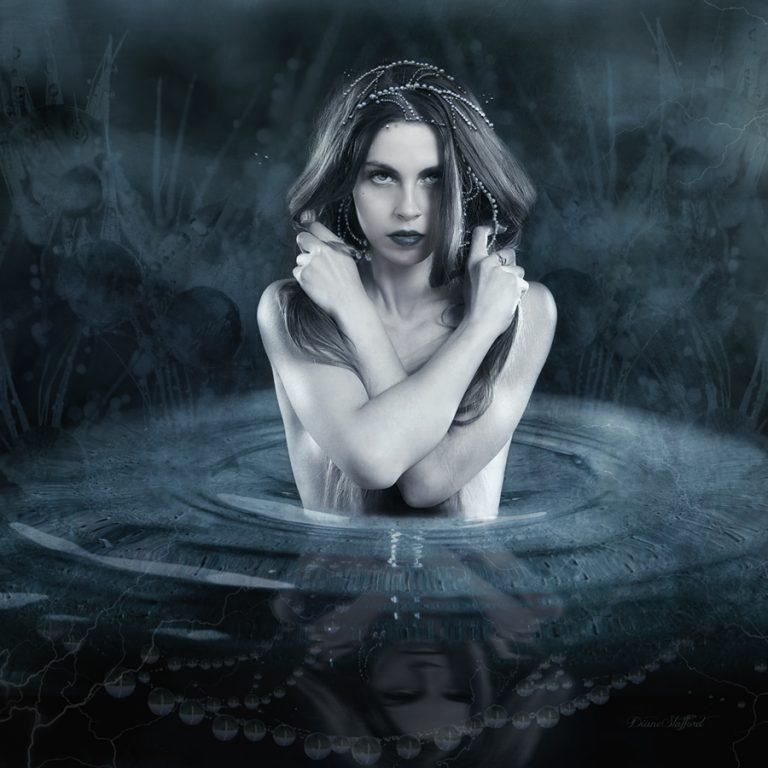 Rainmaker, digital art by diane stafford