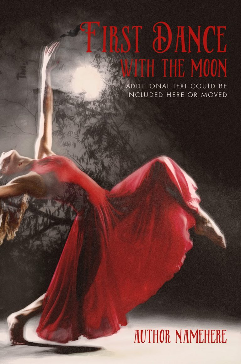 Book Cover Studio - First Dance With The Moon