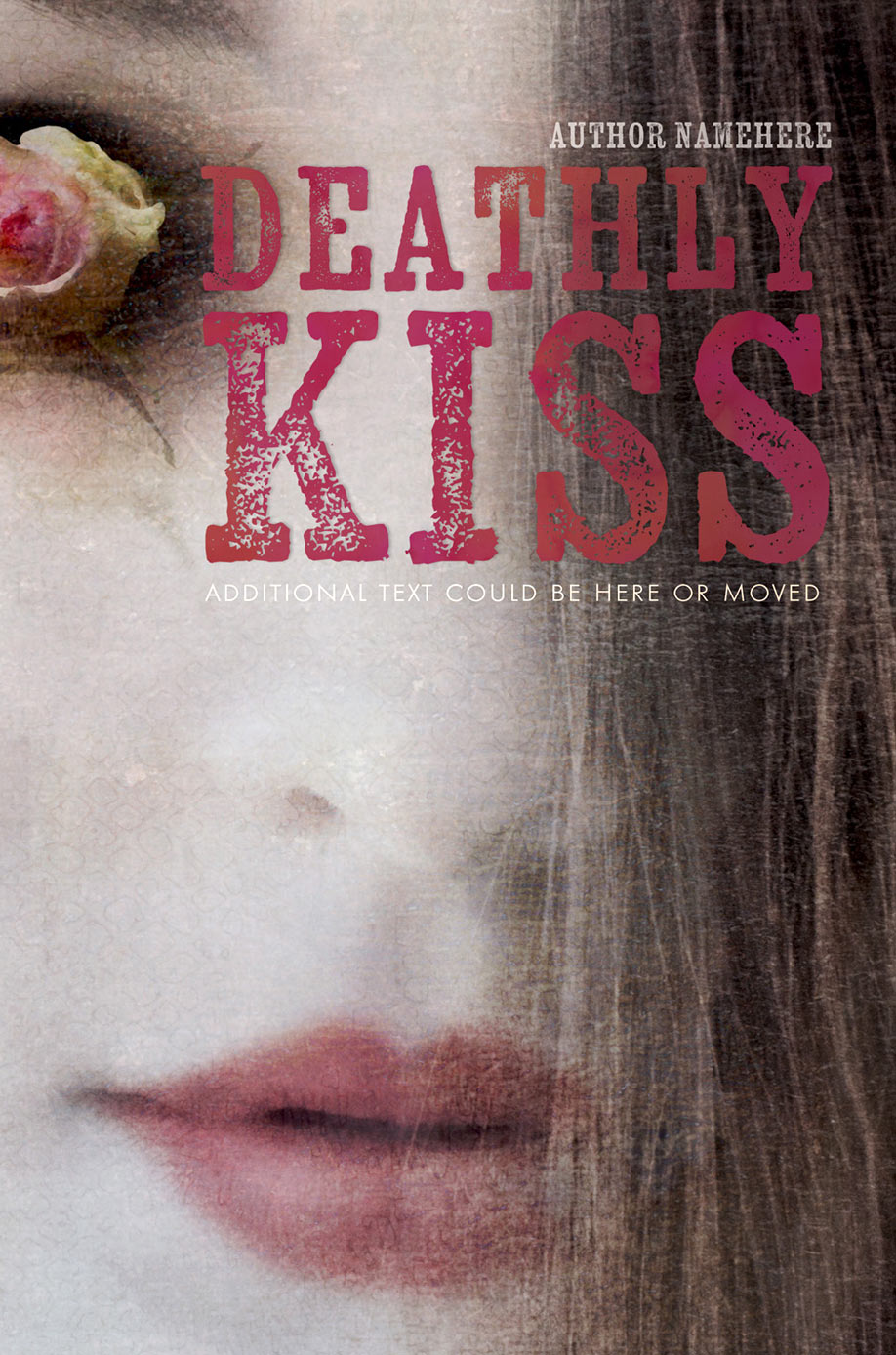 Book Cover Studio - Deathly Kiss