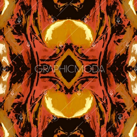 AUTUMN ABSTRACT Seamless Repeat Pattern