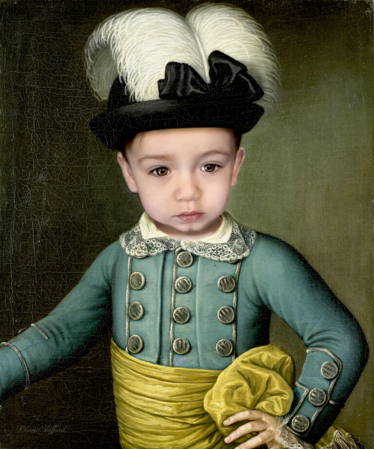 Little Prince William Portrait